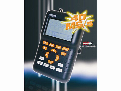 Velleman Hps50 Handheld Personal Oscilloscope With Usbspecial