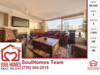 3 bed 3 bath , Fully Furnished, With Amazing View, on Beach