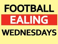 Play 5 a side football in Ealing every Wednesday 6pm