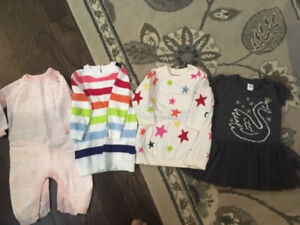 6-12 month winter girls outfits