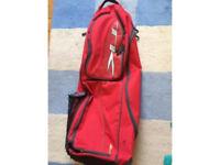 TK hockey bag / 2 adult Zoppo hockey sticks