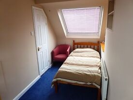 Single room with en-suite bathroom in St Albans