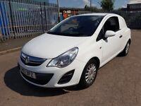 2012 12 Vauxhall Corsa Van 1.3 CDTI ECOFLEX Start Stop WHITE CLEAN *NO VAT*