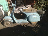 1959 Douglas Vespa 152 L2 British Built For Complete Restoration