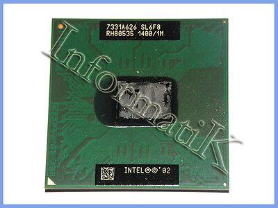 Intel Pentium M Processor SL6F8 (1MB, 1.40GHz 400MHz) PPGA478 Dell Latitude D600 ()