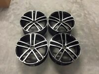 "18 19"" Inch VW Golf GTi Nogaro Style Alloy wheels VW Golf MK5 MK6 MK7 Audi A3 Seat Leon Caddy 5x112"
