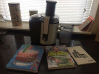 Philips juicer plus two books!