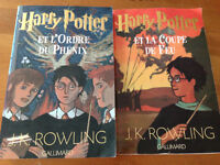 2 X Roman Harry Potter GRAND FORMAT *COmme Neuf*