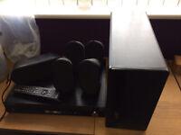 Samsung Surround Sound and DVD player