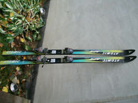 DOWNHILL SKIS 160 CM ATOMIC ACS SPORT STRAIGHT SKIS