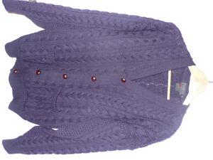 Cardigan en pure laine pour homme (grandeur: médium)