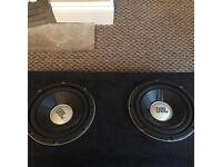 2 JBL subs, 2 6x9 speakers and pioneer amp