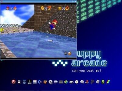 Puppy Linux Slacko Retro Arcade Live USB Emulator ROM management multi system