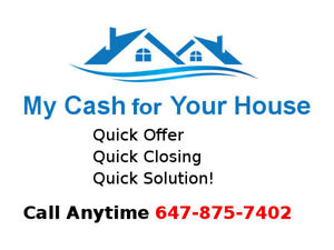 I Will Buy Your House Fast, For Cash!
