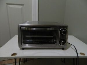 """Stainless steel Toaster Oven (14""""L x 10""""W x 8""""H)"""