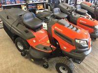 Husqvarna 142T Ride on lawnmower mower 20 hp v twin engine