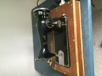 Singer Sewing Machine 1950's Electric