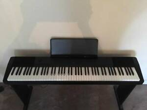 Casio Piano CDP130 & stand & pedal & bench - 88 weighted keys