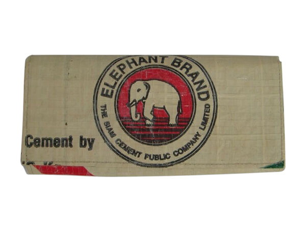 Elephant Branded Recycled Wallet