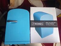 Things Blue 6L Mini Fridge 240v and 12V