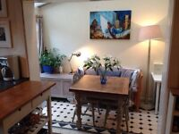 Monday to Friday lodging, double room, central Exeter