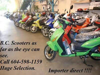 ****TOP QUALITY ELECTRIC BIKES AT BC SCOOTERS # 1 SINCE 2001****