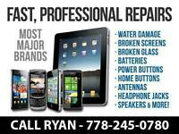 ANDROID, IPAD, IPOD, SAMSUNG, LG, HTC, MOTOROLA PHONE REPAIRS!