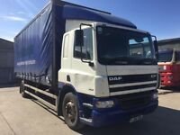 Daf cf 65 18 ton curtain sider low Kms one owner