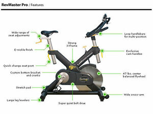 Lemond Revmaster Spin Exercise Bike (Pro Gym Equipment)