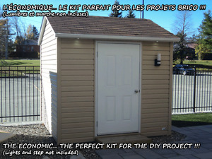 10x10 CABANON KIT BRICO ~ DIY SHED KIT...