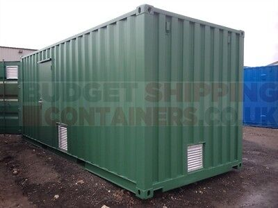 Extra door in a used container, green 20ft hc refurb, red 30ft with extra cargodoors, new 20ft with extra door and vents