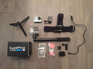 GoPro Hero4 Silver + 32GB Micro SD Card & Accessories North Shore Greater Vancouver Area image 1