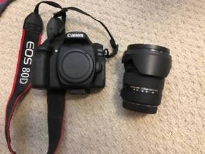 Canon 80D Body and Sigma 17-50mm