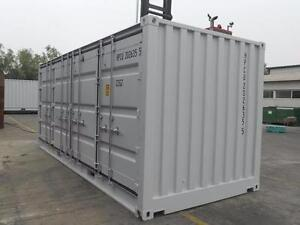 NEW ONE TRIP 20 FT OPEN SIDE SEA SHIPPING CONTAINER