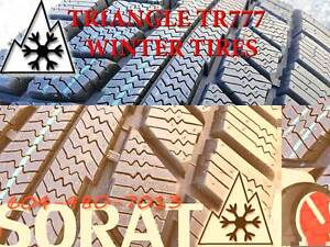 WINTER - TIRES 195/55/15 TRIAGLE TR777 SNOW LION FREE INSTAL