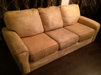 Love seat and couch and matching set