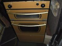 oven- MOTORHOME/ CARAVAN OVEN , HOB AND GRILL GAS