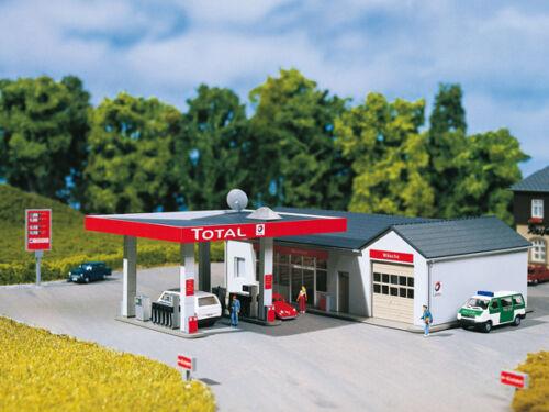 Auhagen 13320 Tt Gauge, Gas Station # New Original Packaging #