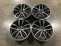 "18 19 20"" Inch Audi S5 style Wheels A4 A5 A6 A7 A8 5x112 Caddy Van Golf Seat Leon"