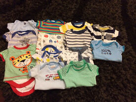 Boys First Size Vests