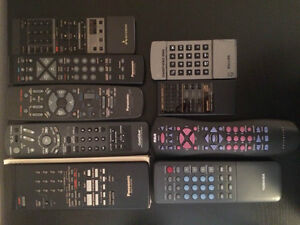 Selling Remote Controllers (Excellent Condition)