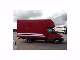 cheap house Removals service 2 men and luton van