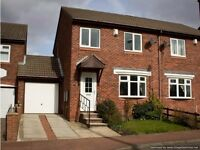 Fantastic 3 bedroom Semi Detached Terrace House situated in Wesley Way, Throckley, Newcastle.