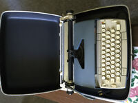 hand writting type writer, appraised at 50.00