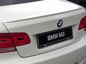 BMW E92 M3 STYLE TRUNK SPOILER NEW DIRECT FIT