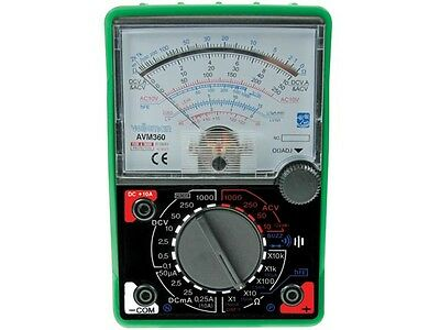 Velleman Avm360 Analogue Multimeterspecial