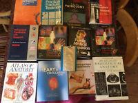 13 medical nursing text books.