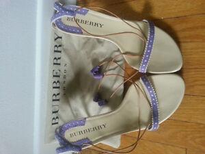 Authentic Burberry Sandals Size 39 - NEVER WORN