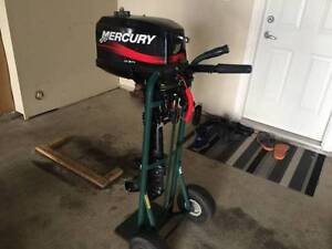 Outboard Mercury 5 HP, 2 stroke - excellent condition