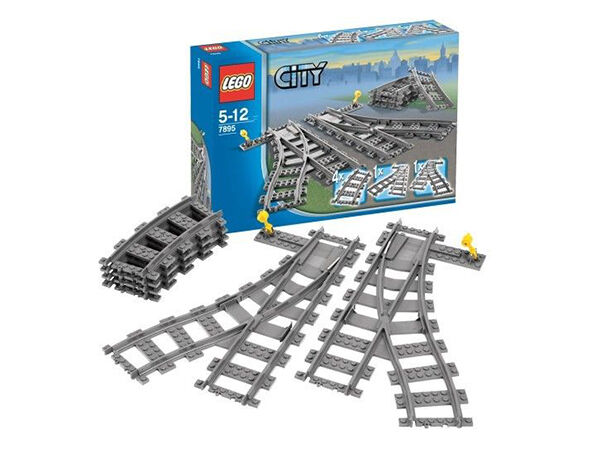 how to make custom lego train tracks